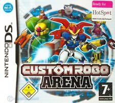 Nintendo DS Spiel - Custom Robo Arena mit OVP