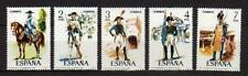 A7835) SPAIN 1975 MNH** Uniforms 5v