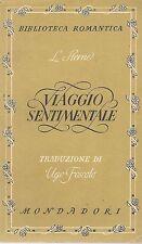 VIAGGIO SENTIMENTALE - LORENZO STERNE (YORICK) (Trad. Ugo Foscolo)