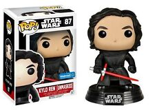 Funko Star Wars: The Force Awakens Pop! UNMASKED Kylo Ren 87 VINILE Bobble-Head