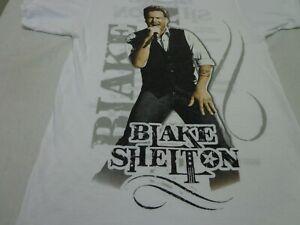 BLAKE SHELTON CONCERT T-SHIRT 2013 TOUR SMALL COUNTRY MUSIC