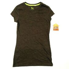 S Size Women's shirt SO brand Cap Sleeve style Brown color -642-