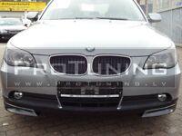 BMW E60 E61 03-07 Front Bumper spoiler M5 look style lip M Tech diffuser sport