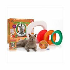 Cat Toilet Potty Training Litter Kwitter PLUS DVD Training Video + FREE Cat Toy