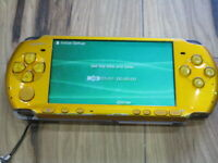 Sony PSP 3000 console Bright Yellow Japan B401