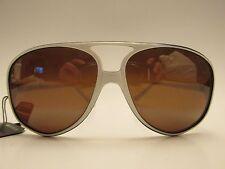 Lion In The Sun Aviator White Sunglasses  Sola UV Guard Lenses