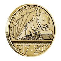 2017 Trans Australian Railway Train Centenary $1 One Dollar Unc Coin Perth Mint