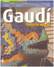 GAUDI' TUTTE LE OPERE JOAN BASSEGODA I NONELL PERE VIVAS TRIANGLE POSTALS(JA57)