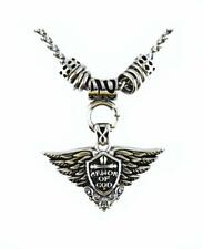 "SK2272 Armor Of God Pendant With 19"" Chain Stainless Steel Motorcycle Jewelry"