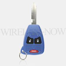 Car Key Fob Keyless Entry Remote Navy For 2006 2007 Dodge Charger