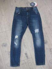 NEU:  Blue Monkey Damen Jeans Celine 1088 Boyfriend Cropped Gr. 28