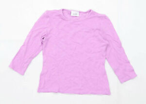 Wallis Womens Size 12 Purple Petite T-Shirt (Regular)