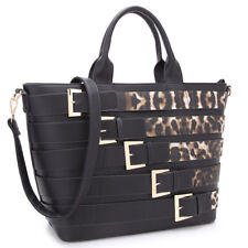 New Dasein Womens Handbag Faux Leather Tote Bag Satchel Shoulder Bag Large Purse