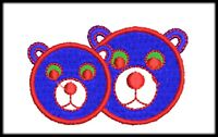 49 Bear Files Embroidery Digitized Stitches Design to Run Machine