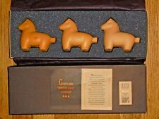 "Gump's Own ""Japanese Horse"" Vintage Bath Soap (3 bars in 13.5"" x 4.75"" box)"