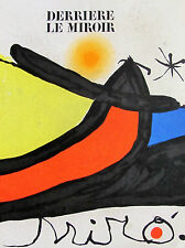 MIRO - DERRIERE LE MIROIR LITHOGRAPH #193/194 - 1971 - FREE SHIP IN  US !