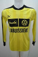 PUMA MAILLOT T SHIRT FOOT FOOTBALL JERSEY  M JAUNE / 2