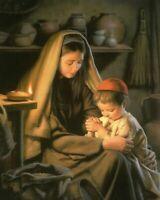 MARY AND CHILD JESUS - 8  x 10  Print
