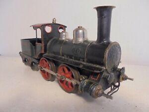Marklin gauge1-1021- 0-4-0 Loco & Tender-No.1-black/green/red-c/w-good/box-c1902
