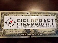 Barrett Firearms authentic sticker new
