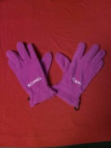 Columbia Cozy Soft Gloves - Pink - Youth Medium