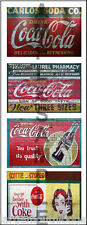 WEATHERED HO SCALE PEEL/STICK BUILDING DIORAMA LAYOUT SIGNS SODA STORE BB2