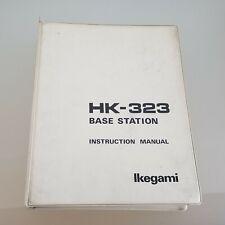 Ikegami HK-323 Base Station Manual