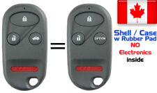 2x New Replacement Keyless Entry Remote Key Fob Case Shell For Honda A269ZUA101