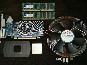AMD Opteron 144  Processor 1.8GHz Socket 939 - OSA144DAA5BN +Cooler with Fan+VGA