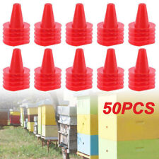 50pcs Cone Shape Queen Excluder Preventing Bee Escaping Beekeeping Tool Us New