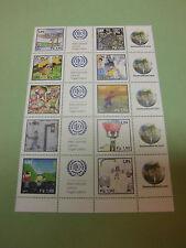 UNO Genf 725-734 Grußmarken aus 2010 postfrisch Kampagne gegen Kinderarbeit