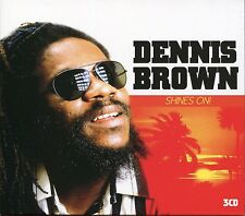 DENNIS BROWN SHINES ON - 3 CD BOX SET - GIRL YOU KNOW, INSEPARABLE & MORE