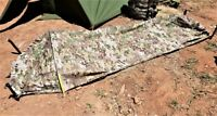 MULTICAM BIVY BAG WITH INSECT SCREEN AND POLE-SLEEVE BREATHABLE & WATERPROOF