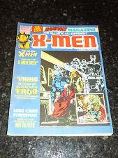 RAMPAGE Magazine Starring X-MEN Comic - No 32 - Date 02/1981 - UK Marvel
