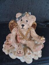 Boyds Bears JULIETTE IVORY COLORED ANGEL BEAR  w/ Box