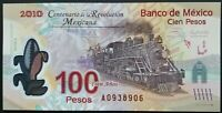 Mexico 100 pesos pick 128 2007 polymer note UNC
