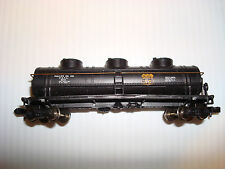 Bachmann N scale #9214 40' Three Dome Tank Car Phillips 66 #17140 Silver Series