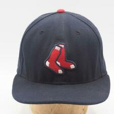 New Era Boston Red Sox Fitted Baseball Hat 59Fifty 5950 7-1/2
