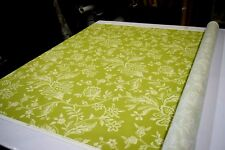 MILL CREEK WEXFORD TERRACE GREEN DESIGNER HOME DECOR FABRIC 100% COTTON SOLD BTY