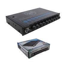 1/2 DIN 9 Band Equalizer w/ Sub Level Control 8V Pro Car Audio MPQ-90