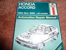 HAYNES 42011 HONDA ACCORD 1984-1989  , SERVICE AND REPAIR WORKSHOP MANUEL