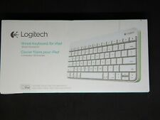 Logitech White Wired Keyboard for iPad, iPad2 and iPad 3rd Generation NEW