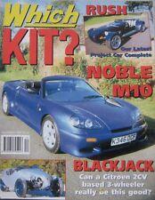 Which Kit? magazine 12/1997 featuring Noble M10, JBA Jamboree, Blackjack, Dax