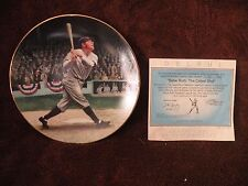 Babe Ruth Collectors Plate The Called Shot The Legends Of Baseball