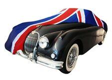 JAGUAR XK 150 INDOOR CAR COVER - TAILORED  - UNION FLAG - CUSTOM COVERS - NEW