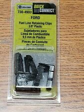 FORD Fuel Line Retainer CLIPS 3/8'' Plastic 730-4903