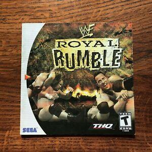 Royal Rumble WWE WWF WF Wrestling Sega Dreamcast Instruction Manual Only