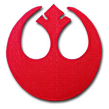 Rebel Alliance Rogue Squadron Star Wars Logo Patch Embroidered Iron on Emblem