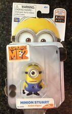 """Despicable Me 2 2"""" Action Figures Minions Stuart"""