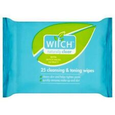 Witch Naturally Clear Cleansing & Toning Wipes (25)